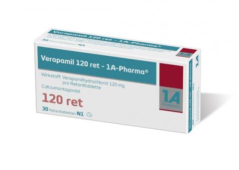 Verapamil Er 120 Mg