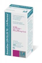 Amoxicillin/Clavulansäure 125/31,25 mg
